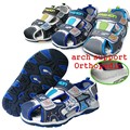 Free Shipping 1pair PU summer Children Sandals Boy shoes+inner 16-19.5 cm, soft outsole Shoes, Kid/Baby shoes