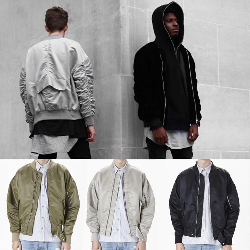 2017 high Europe street new MA1 Europe street font b jackets b font and coats Hip