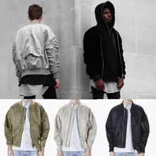2017 high Europe street new MA1 Europe street jackets and coats Hip Hop Suit Pullover Winter