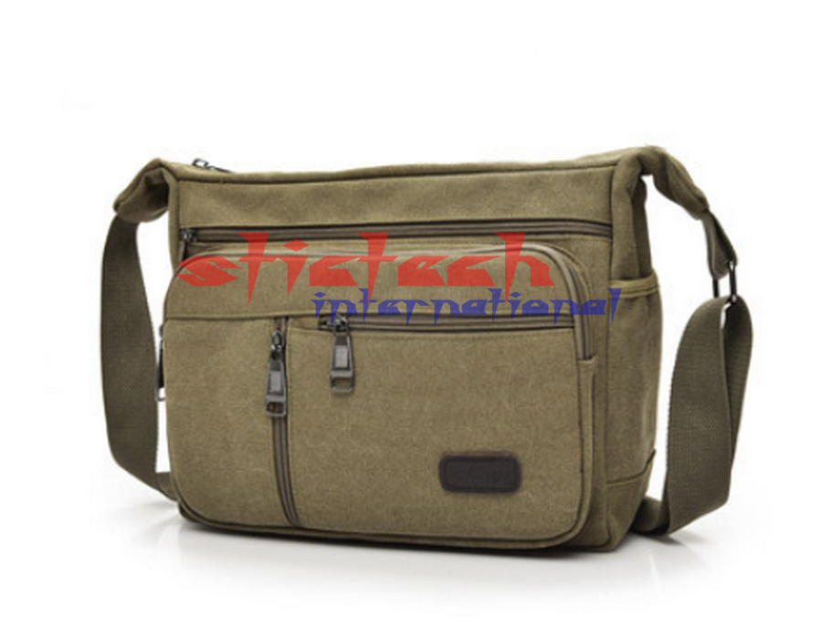 50Pcs Messenger Bags Canvas Crossbody Shoulder Bags Business Handbags