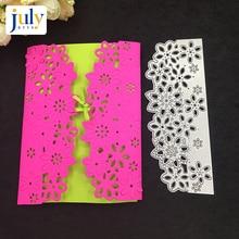 Julyarts Cutting Dies Rectangle Design Card Making Metal Crafts Manual Gife For Painting Scrapbooking Embossing