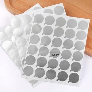 Image 2 - Nouveau, 300 pièces, palettes, tampons de colle jetables pour extensions de cils, porte colle pièces, accessoire de beauté, taille 2.5cm