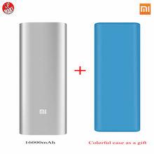 Caso Protector Xiaomi Banco de la Energía 16000 mAh PowerBank Cargador Portátil 18650 Banco Externo de La Batería 16000 Para iPhone6 Xiaomi Teléfonos