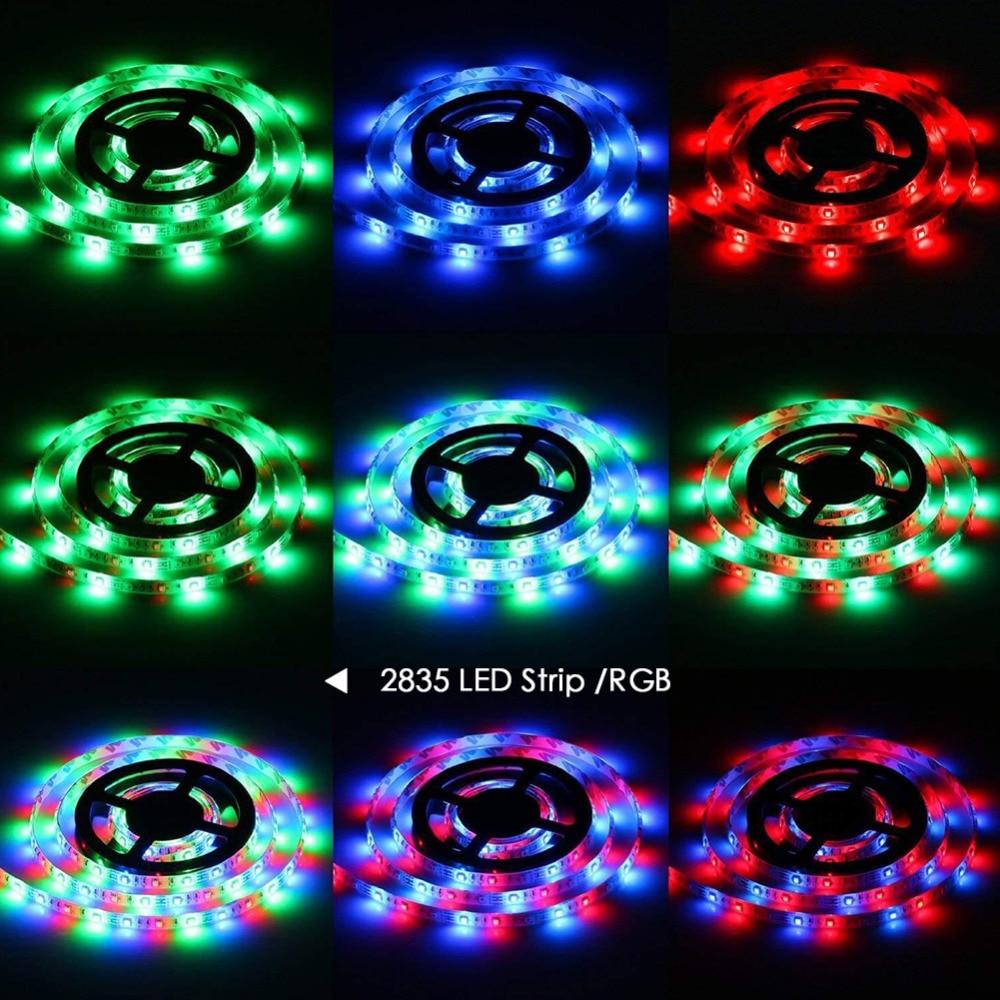 USB LED Strip DC 5V 50CM 1M 2M 3M 4M 5M Mini 3Key 24Key Flexible Light USB LED Strip DC 5V 50CM 1M 2M 3M 4M 5M Mini 3Key 24Key Flexible Light Lamp SMD 2835 Desk Decor Screen TV Background Lighting