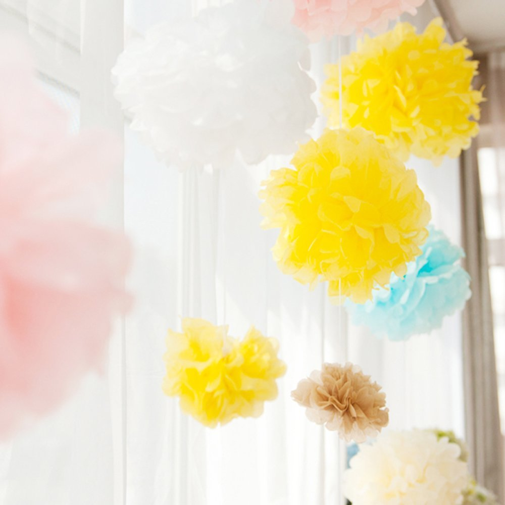 Practical 15pcs 25cm10inch Tissue Paper Wedding Party Decor Craft