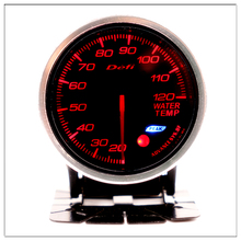 DEFI Water Temperature 60mm For BMW E 30 34 36 38 39 46 53 60 82 83 87 90 92 F11 20 Mini Marine Water Temp Gauge Round pointer
