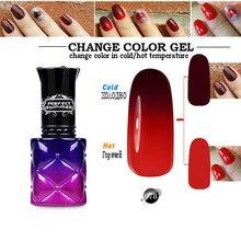hot deal buy nail gel temperature color changing gel nail polish 8 ml uv led soak off gel lacquer long lasting gel polish chameleon nail gel