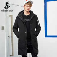 Pioneer Camp New Arrival Warm Winter Jacket Men Brand Clothing Long Thick Coat Male Top Quality