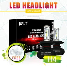 Modifygt S1 H7 LED light bulb for cars H4 H1 H3 H8 H11 9005 9006 12V 50W 8000LM car styling Auto Headlamp 6500K accessories