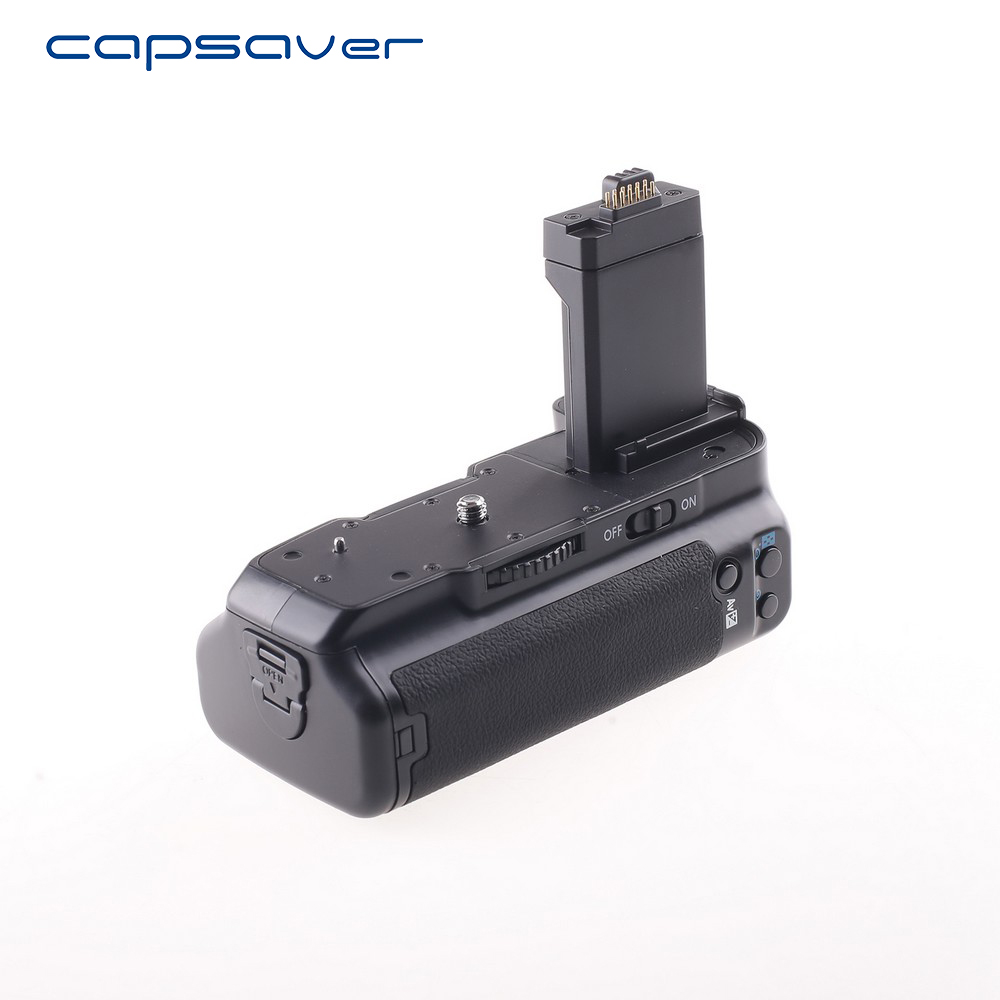 capsaver Vertical font b Battery b font font b Grip b font Holder for Canon 1000D
