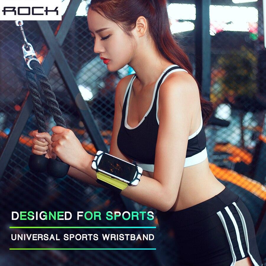 Цена за Рок Универсальный спортивный браслет чехол для iPhone 7 6S плюс бег спортивный держатель телефона для Samsung для Huawei Велоспорт чехол Крышка