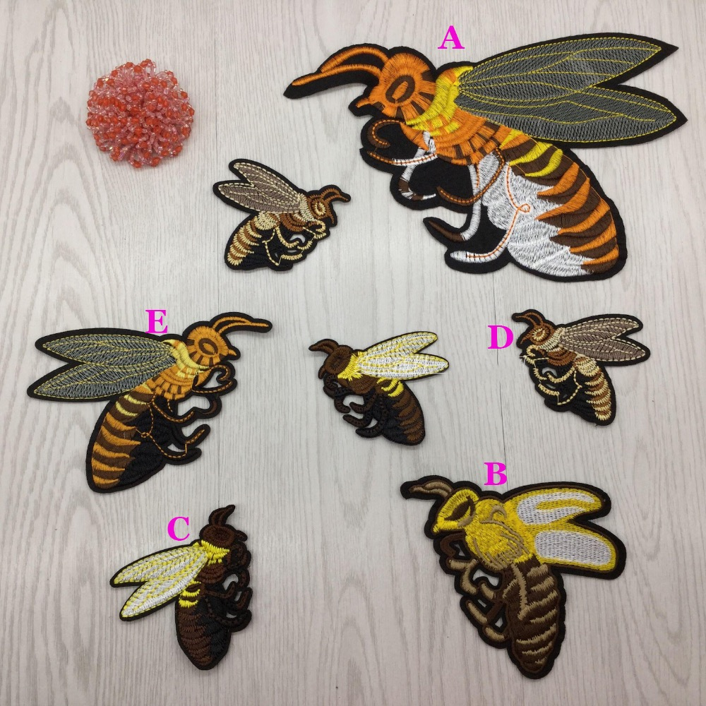 Aliexpress buy types flying bees applique patches