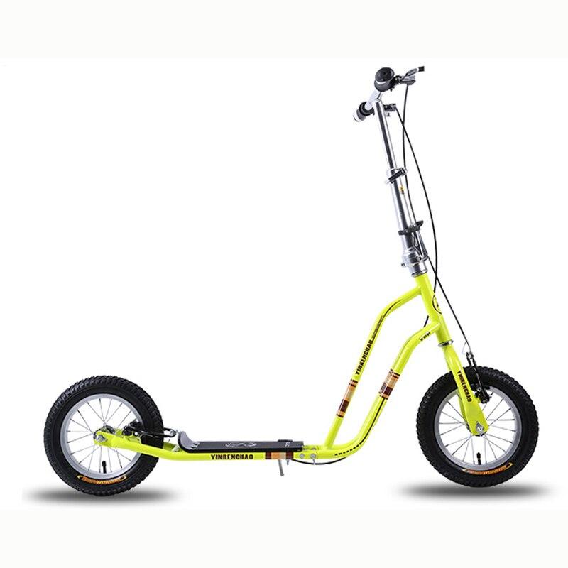 T7 12 Zoll Air Wheel Kids Roller High Carbon Stahlrahmen und - Radfahren - Foto 6