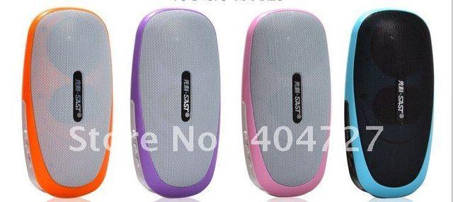 New Arrival Pocket Mini Speaker TF Card & USB Drive FM Free Shipping