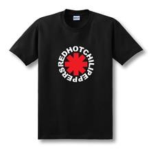 nk Punk Rap Alternative Rock And Roll Red Hot Chili Peppers T shirt Men Cotton Printing Black Rock Music HIp Hop Tee Size XS-XXL