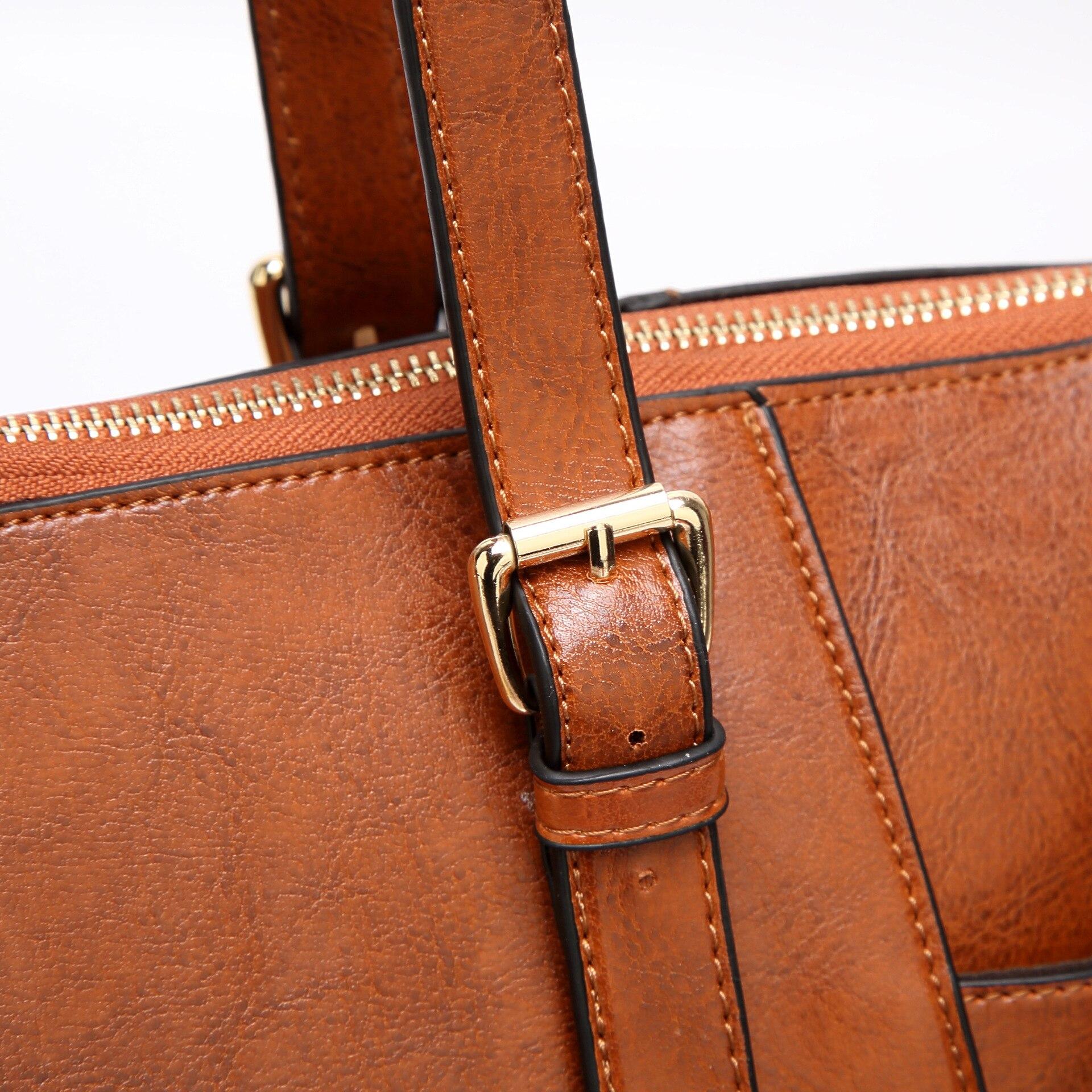 2018 Fashion Handbag Retro Europe och USA Shoulder Messenger Bag - Handväskor - Foto 5