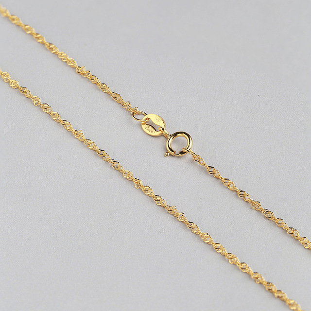 Girl Love Best Fine Jewelry Solid Sterling Silver Necklace Yellow