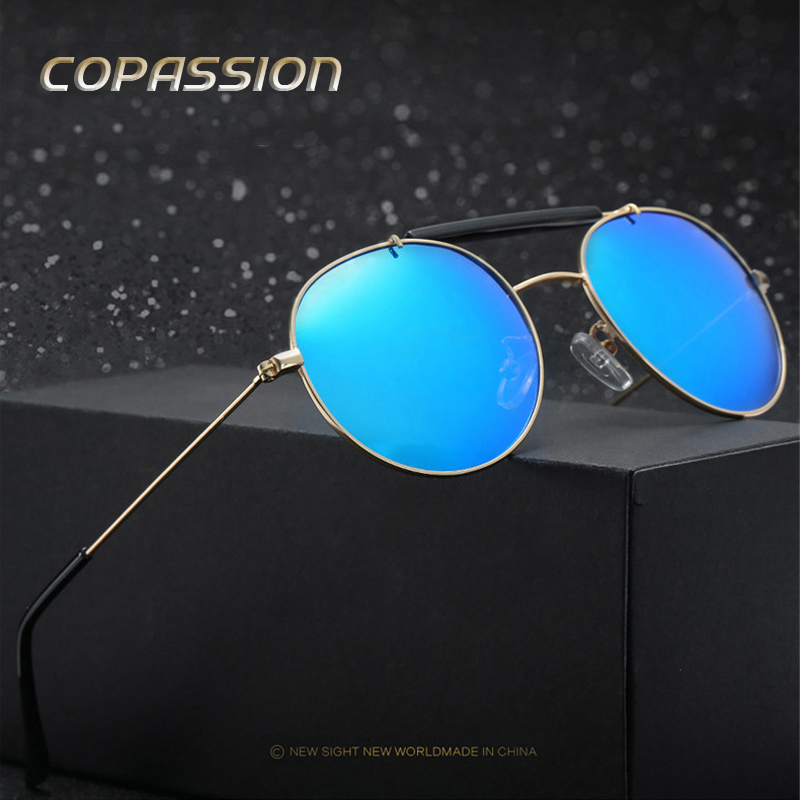 Round polarized steampunk sunglasses men Brand Designer Outdoor Sport Sun Glasses driving glasses Fishing Eyewear oculos de sol