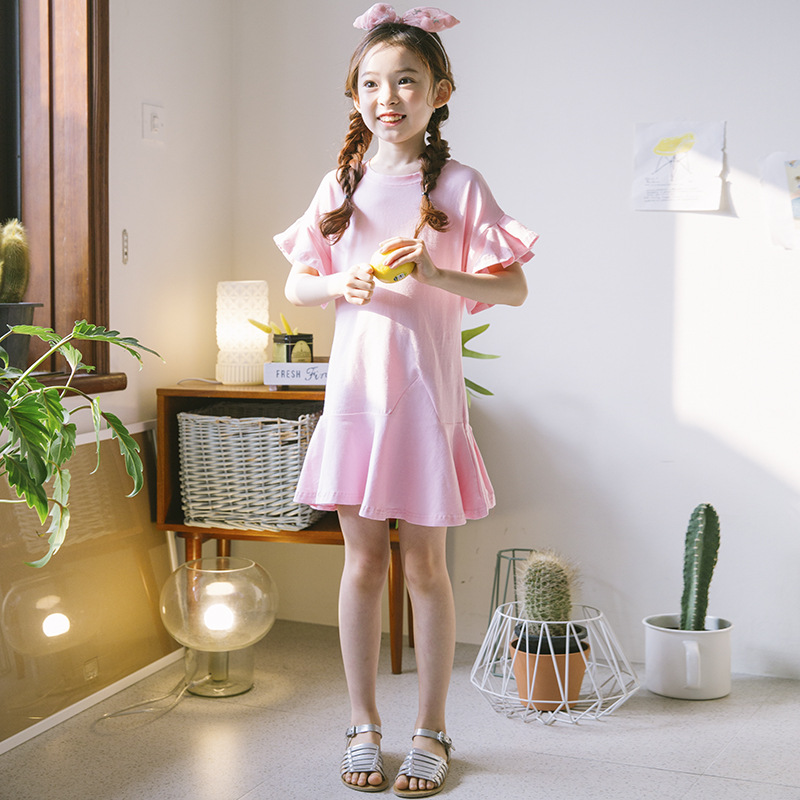 Advice 100% Cotton Girl Evening Dress Summer Princess Dresses For Girls Children Casual Party Dress Kids Clothes 2-14Y Teenager Costume Cheapest