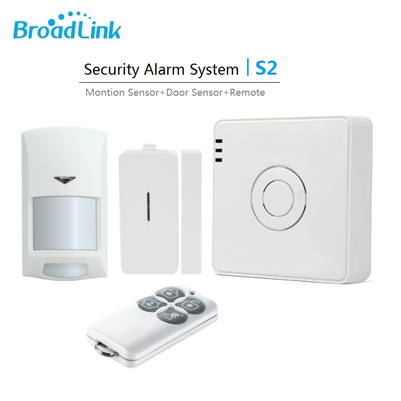 2017 New Original Broadlink S2 RF433MHz Alarm&Security Kits Smart Home Automation Alarm System Wifi Remote Control by smartphone 2017 new arrival broadlink s1c s1 smartone alarm
