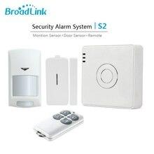 2017 Nueva Original Broadlink S2 RF433MHz Kits de Alarmas y Seguridad Inteligente Sistema de Alarma Domótica Wifi Control Remoto por smartphone