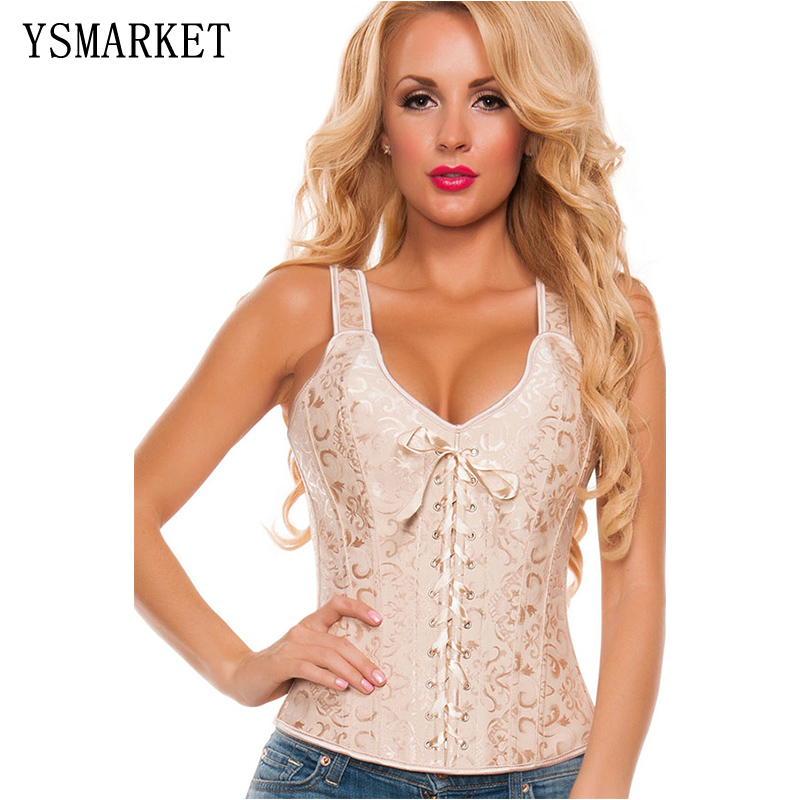 New   corsets   and   bustiers   for women cosplay party costumes   corset   brocade overbust   corset   corselet bridal plus size E5377