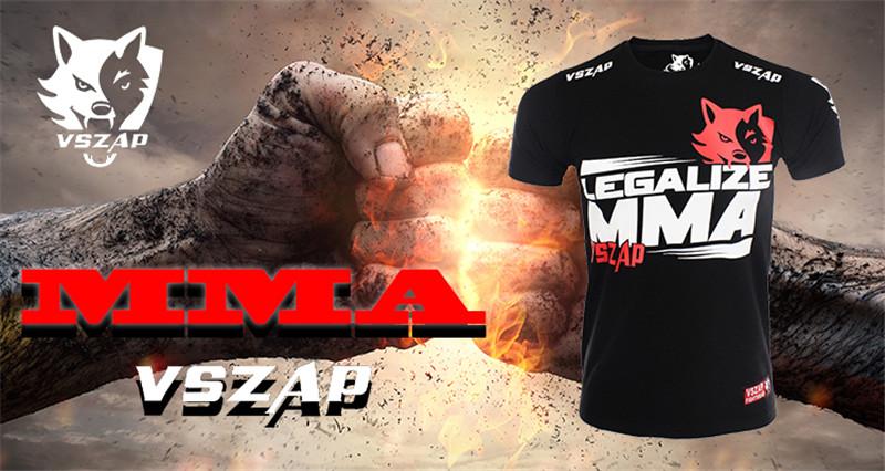 Clothing - VSZAP Brazilian MMA t-shirt
