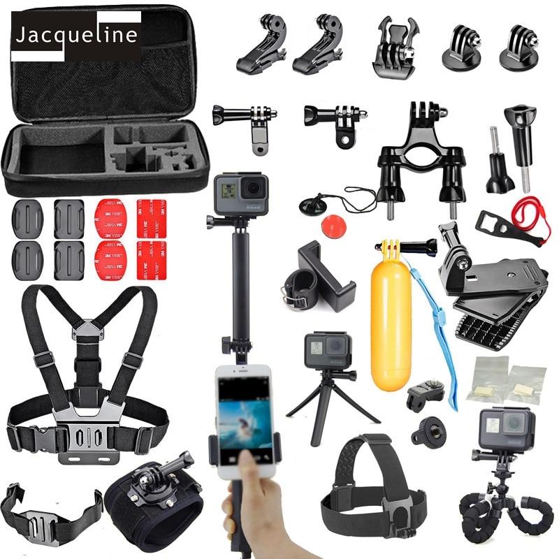 재클린 액세서리 키트 Gopro hero 6 5 4 3+ SJCAM for yi action - 카메라 및 사진 - 사진 1