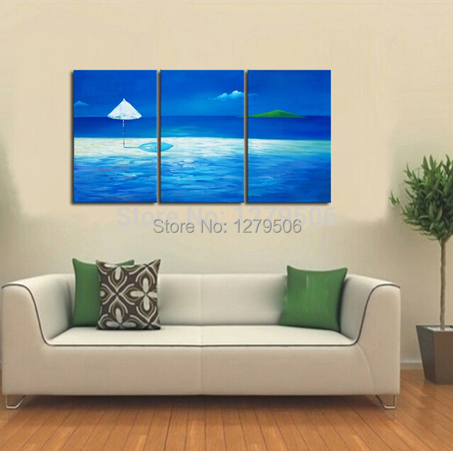 hand painted abstract oil paintings on canvas hang picture the