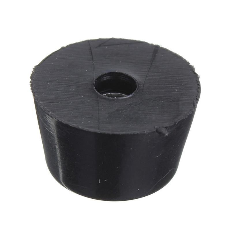 10XBlack Rubber Round Cabinet Instrument Case Feet Foot Circular Bumpers Pads FO