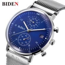 Luxury Quartz Watch Men 2018 Stainless Steel Mens Wrist Watches Waterproof Business Clock Man Top Brand Watch  relogio masculino