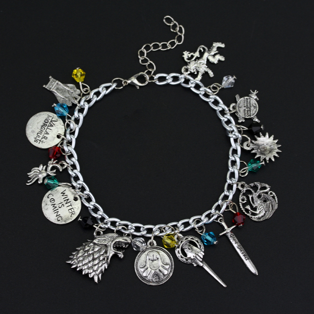 Game of Thrones/Supernatural/The Walking Dead/Doctor Who Bracelet