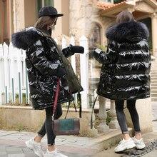 Big Real Raccoon Fur Collar Hooded 90% White Duck Down Jacket