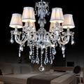 Новая европейская светодиодная люстра  люстра с кристаллами для гостиной  Потолочная люстра