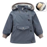 AILEEKISS Winter Autumn Windbreaker For Boys Coats Army Green Bomber Jacket Boy's Coat Jackets Kids Children Clothes 1 10 Years