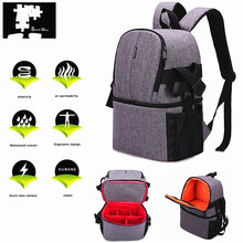 Водонепроницаемый DSLR сумка, рюкзак для фотоаппарата Nikon D7500 D850 D7200 D7100 D7000 D5300 D5200 D500 D600 D610 D750 D700 D300 D5100 D5000