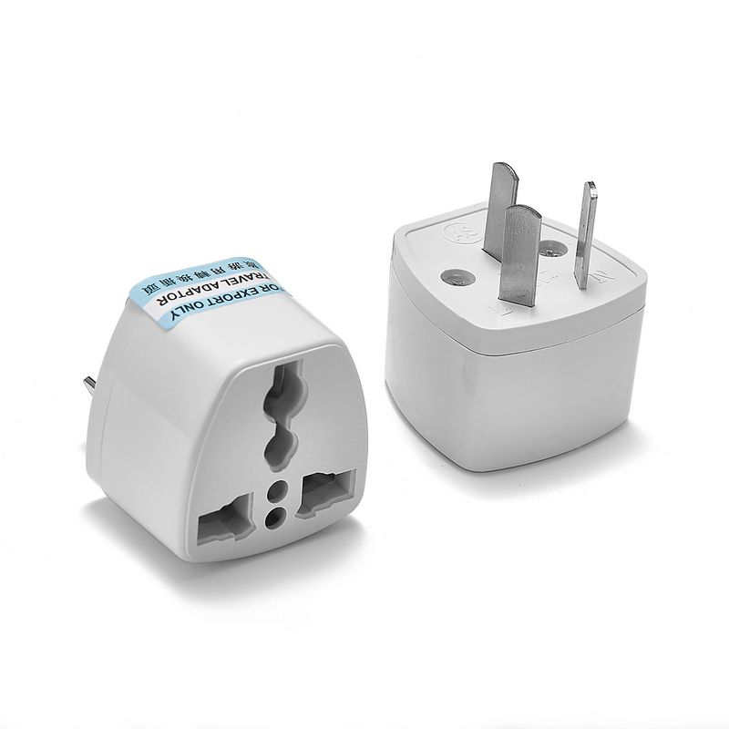 200pcs Universal AU US EU UK Plug Adapter American Australian European AC Travel Power Adapter Electric Outlet Charger Sockets