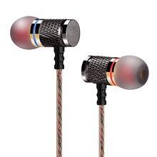 QKZ DM6 Fone de ouvido Fones De Ouvido com Microfone de fone de Ouvido de Metal Baixo som para meizu pop EP52 ZS10 AS10 trn v80