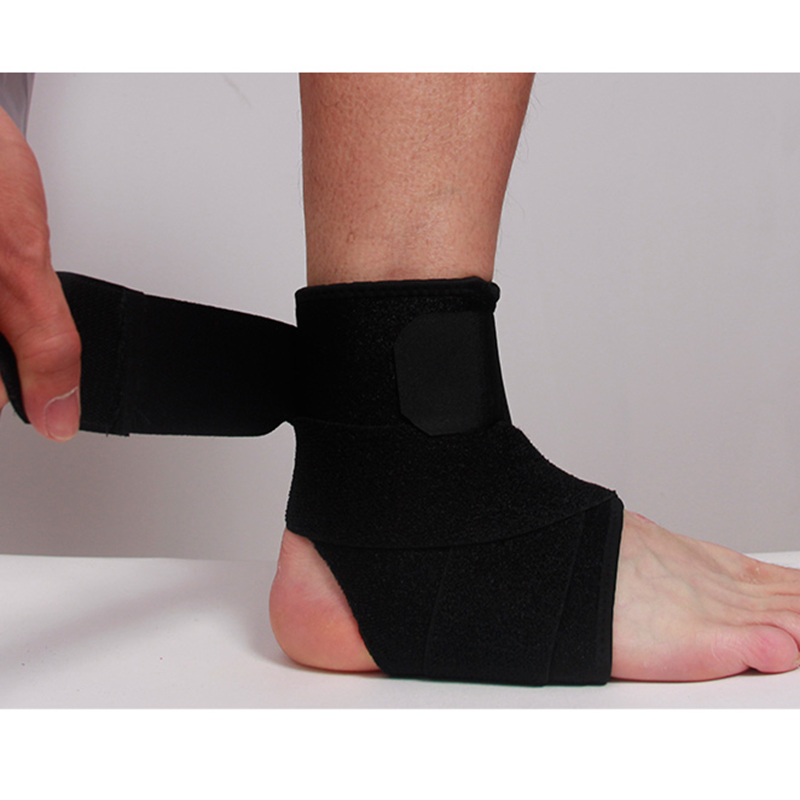 Ourpgone New 1Pcs Ankle Elastic Support Foot Compression Strap Achilles Tendon Brace Sprain Protector Breathable Sport Tools!