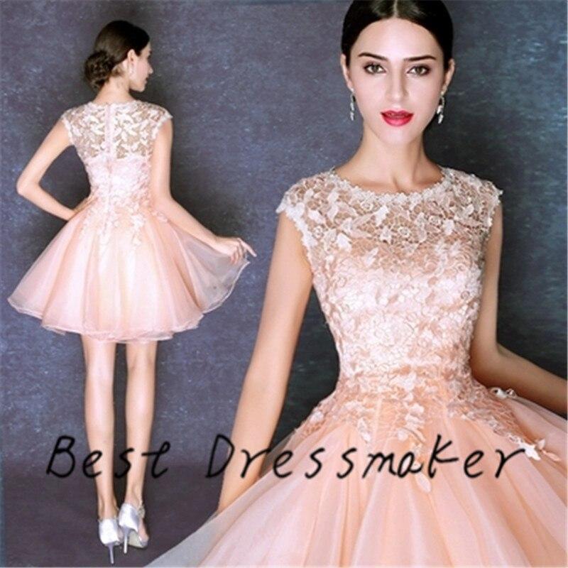Unique Beauty Fluttering Cocktail Dress Party Dress 2016 Short ...