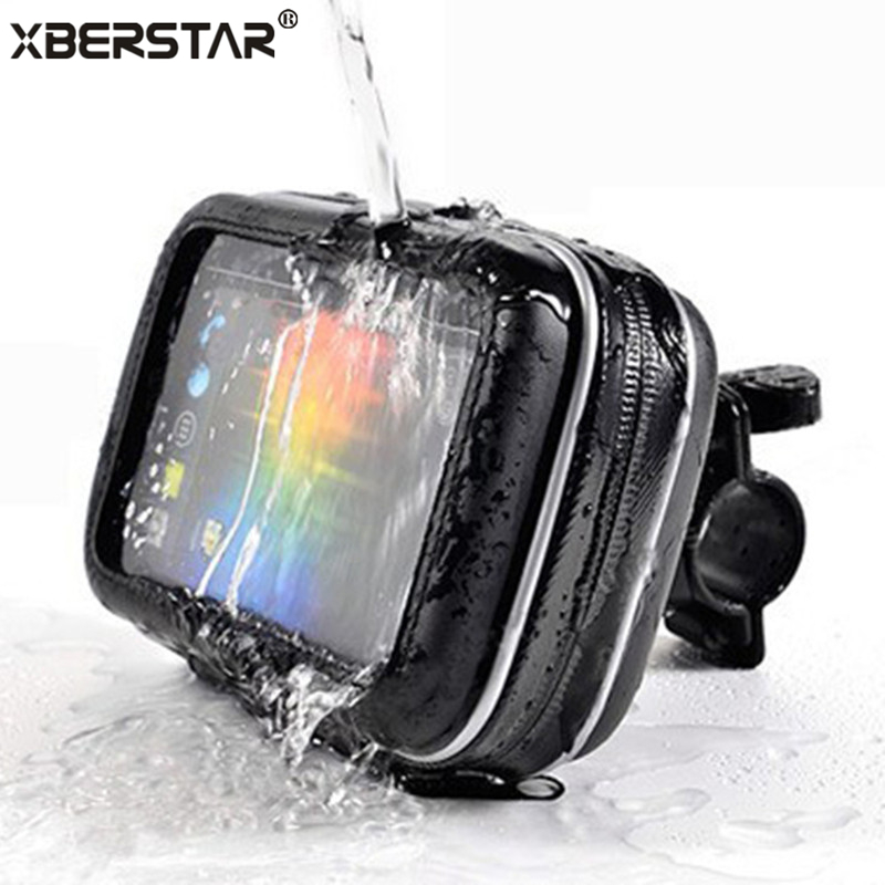 Water Resistant Waterproof Bike Bicycles Motorcycle Case Mount