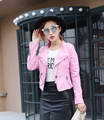 Mujer Women Leather Jacket Xdg 100 And The Wind Zipper Bright New Ladies Leather Coat Jacket Women 147