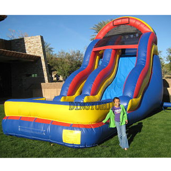 цена на Commercial Inflatable side in inflatable slide For Kids PVC inflatable slide for sale