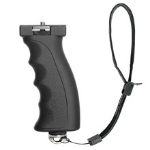 Action กล้องปืนพกแบบ ERGONOMIC Handle สำหรับ Sony X3000 X1000 Xiaomi Yi 4K 4K + Mijia กีฬากล้องวิดีโอผู้ถือ