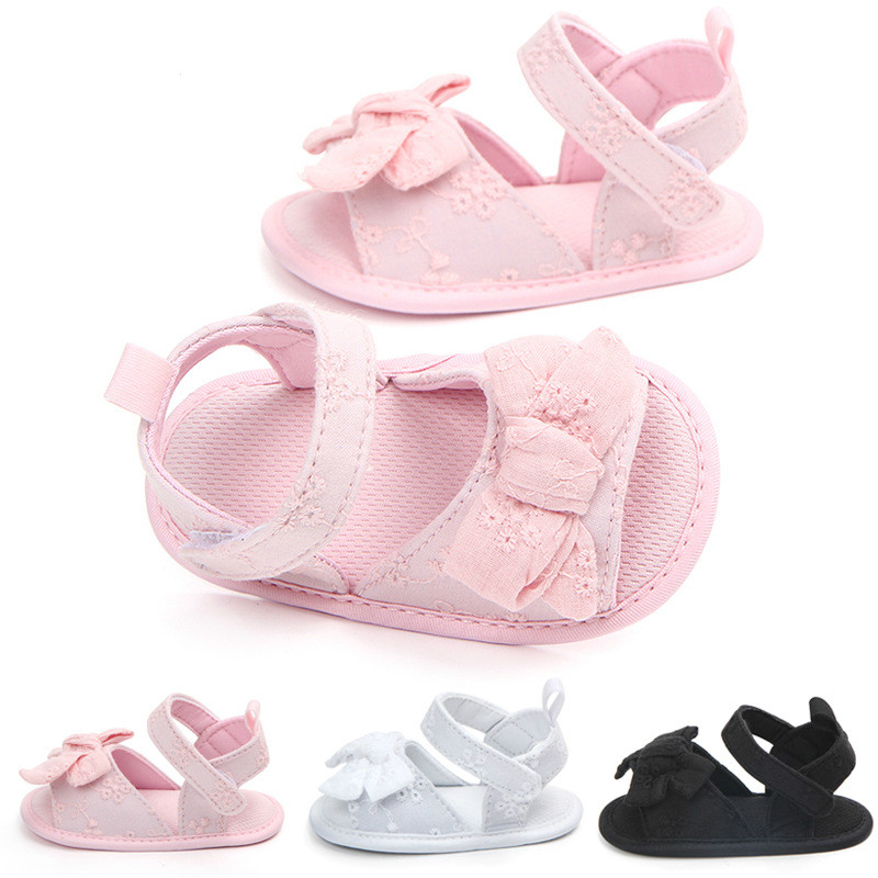 Summer Kids Child Toddler Baby Girl Beach Sandals Bow Leather Pricness Shoes V8