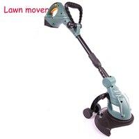 18V Li ion Battery Cordless Grass Trimmer Reel Mower Lawn Mower Telescopic Handle Mower Pruning Garden Power Tools CE ET2803