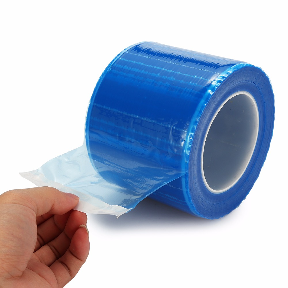 1200pcs roll Dental Protective Film Disposable Barrier Protecting Film Plastic Oral Medical Material Isolation Membrane 10 15cm in Tattoo accesories from Beauty Health