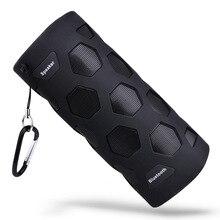 Портативный открытый Водонепроницаемый Bluetooth Динамик 10 W Super Bass музыкальный плеер W Ith микрофон and Мощность Bank зарядки Функция