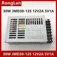 [ZOB] 30W JMD30-125 12V2A 5V1A-alimentation à découpage deux isolés-5 pièces/lot