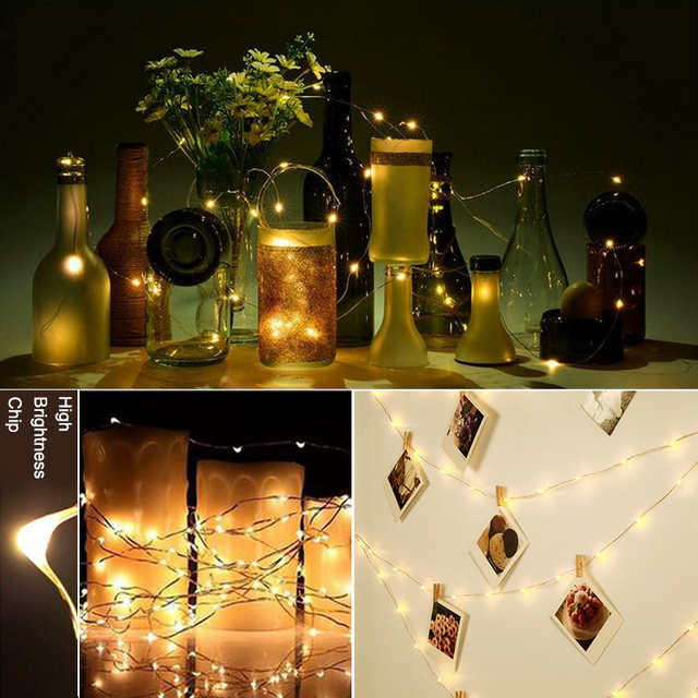 Waterproof LED String Light Garland